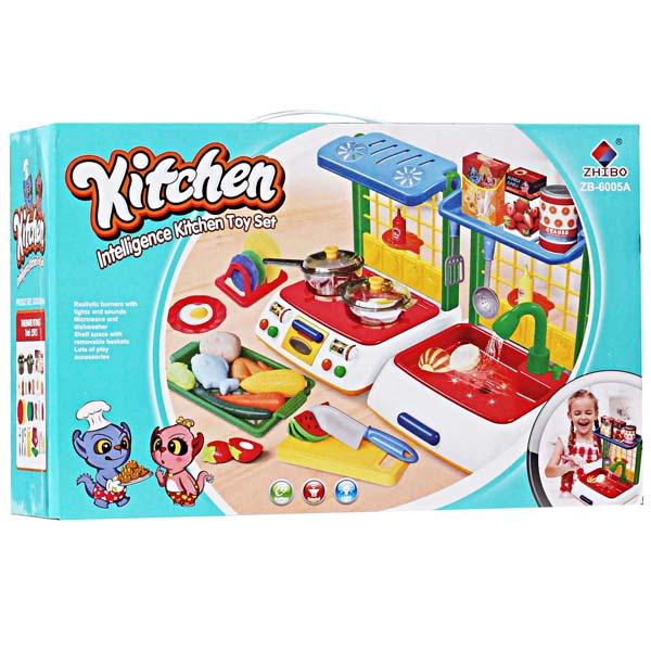 Masakan Kitchen Koper Untuk Anak Perempuan